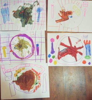 taller de creatividad en torno a Tullet