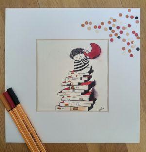 Los libros te alcanzan la luna_ tinta