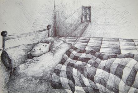 Dormir solo_Grafito