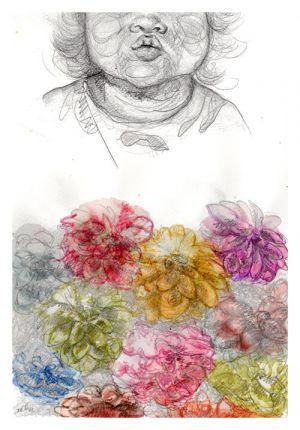 Traes tantas semillas en tu boca, que al besarme nacen flores.