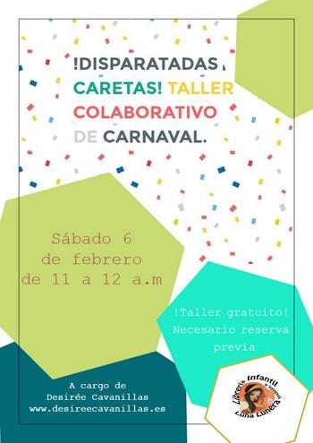 Taller colaborativo de carnaval